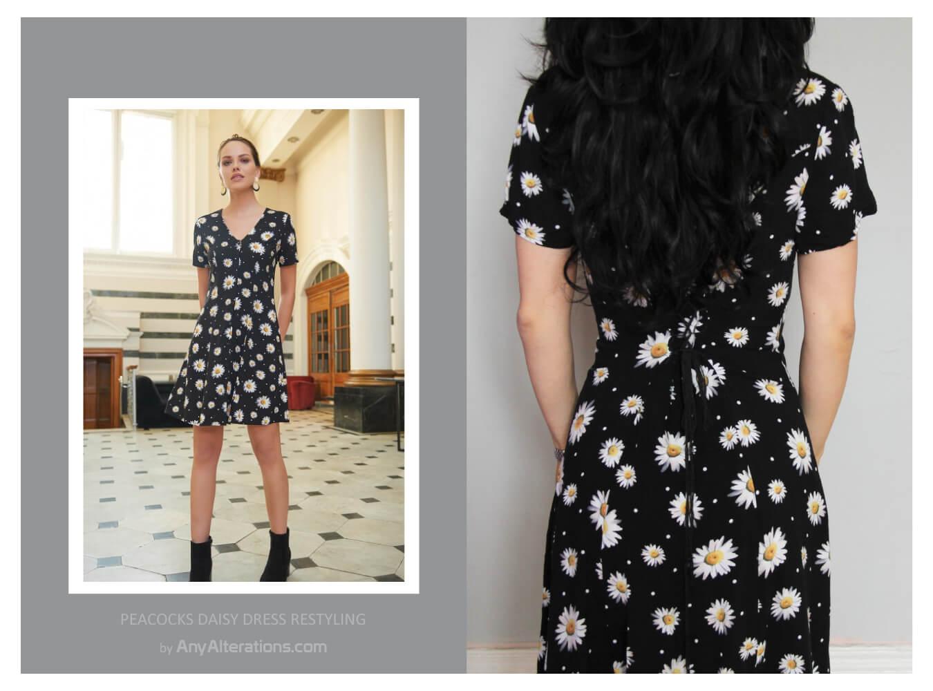 Peacocks-Daisy-Dress-Restyling-by-AnyAlterations.com-01