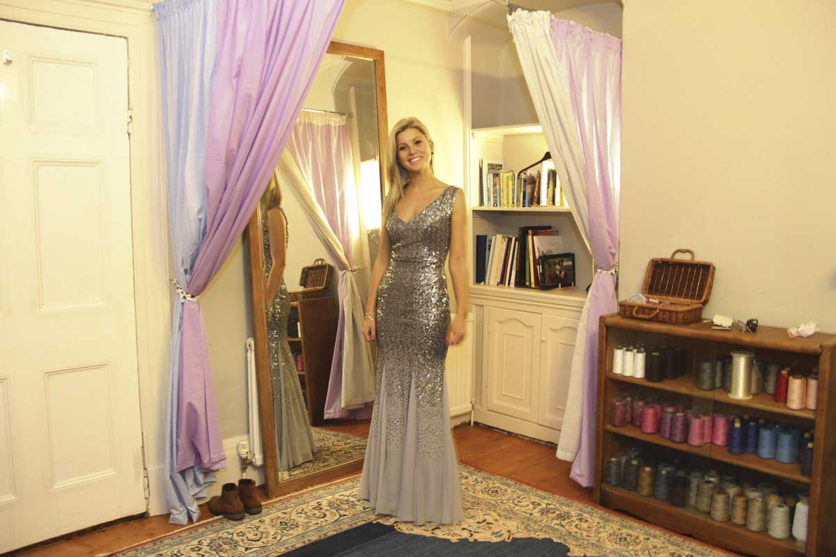 bridesmaid dress alterations AnyAlterations Baldock