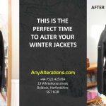 Fur hood coat any alterations Baldock Letchworth Stotfold Hitchin Royston Stevenage Local Seamstress Jacket alterations zip replacement
