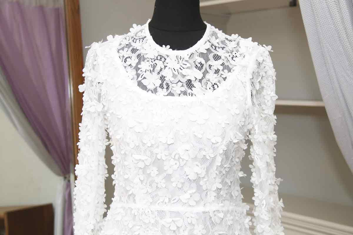 wedding dress alterations AnyAlterations Baldock