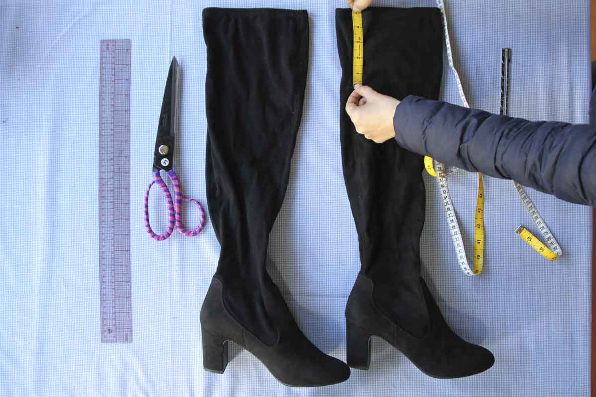 thigh high boots restyling AnyAlterations Baldock